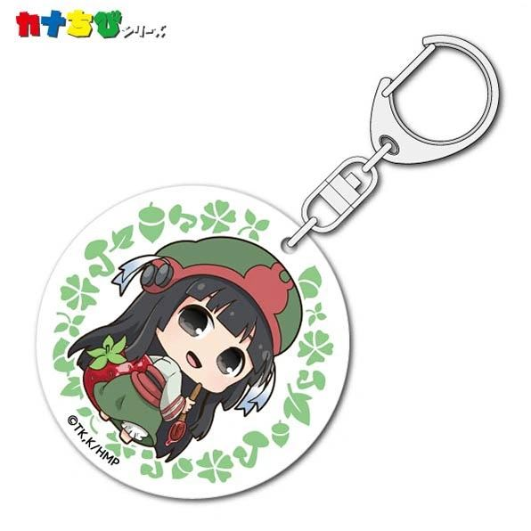 "KanaChibi Acrylic Key Holder ""Hakumei and Mikochi (Mikochi)"" by ACG"