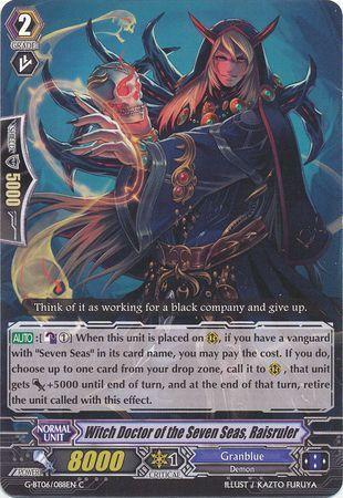 G-BT06/088EN (C) Witch Doctor of the Seven Seas, Raisruler