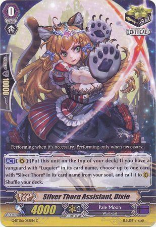 G-BT06/082EN (C) Silver Thorn Assistant, Dixie