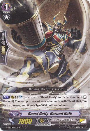 G-BT06/072EN (C) Beast Deity, Horned Hulk