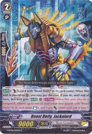G-BT06/067EN (C) Beast Deity, Jackalord
