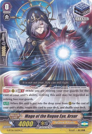 G-BT06/065EN (C) Mage of the Rogue Eye, Arsur
