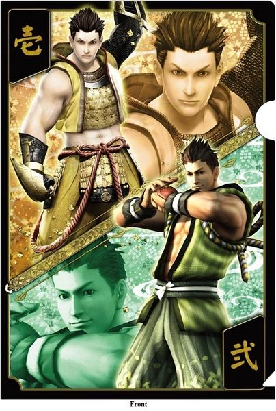 "Bushou Clear File Folder Vol.2 ""Sengoku Basara 4 (Tokugawa Ieyasu)"" by CAPCOM"