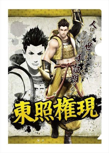 "Bushou Clear File Folder ""Sengoku Basara 4 (Tokugawa Ieyasu)"" by CAPCOM"