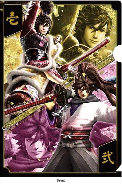 "Bushou Clear File Folder vol.2 ""Sengoku Basara 4 (Keiji Maeda)"" by CAPCOM"