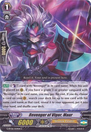 G-BT06/059EN (C) Revenger of Vigor, Maur