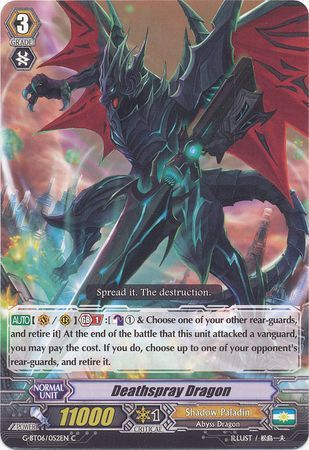 G-BT06/052EN (C) Deathspray Dragon