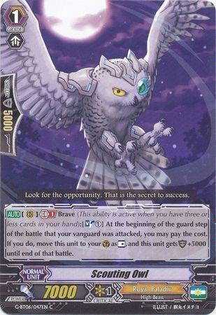 G-BT06/047EN (C) Scouting Owl