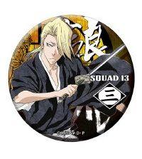 """Dodeka Can Badge """"Bleach (Izuru Kira)"""" by Brujula"""