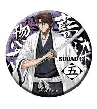 "Dodeka Can Badge ""Bleach (Aizen Sousuke)"" by Brujula"