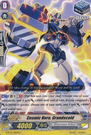 G-BT07/085EN (C) Cosmic Hero, Grandscold