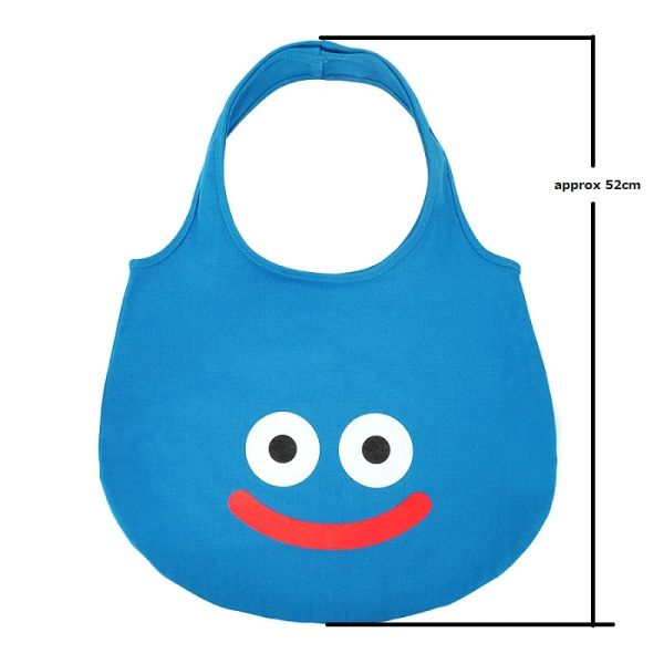 "Smile Slime Slime Silhouette Tote Bag ""Dragon Quest"" by Square Enix"