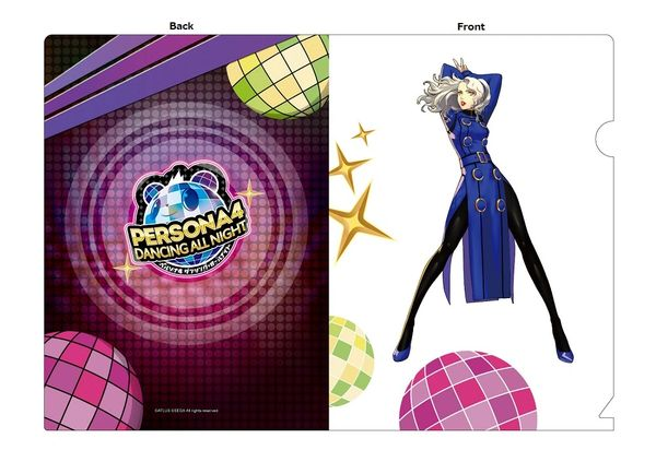 "A5 Size Clear File Folder ""Persona 4: Dancing All Night (Margaret)"" by Contents Seed"
