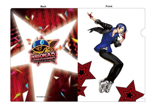 "A5 Size Clear File Folder ""Persona 5: Dancing Star Night (Yusuke)"" by Contents Seed"