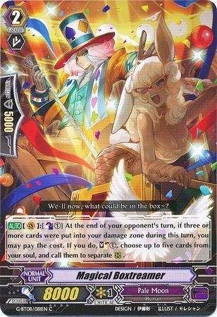 G-BT08/081EN (C) Magical Boxtreamer