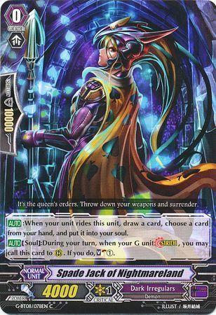 G-BT08/078EN (C) Spade Jack of Nightmareland