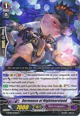 G-BT08/076EN (C) Dormouse of Nightmareland