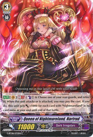 G-BT08/072EN (C) Queen of Nightmareland, Hartrud