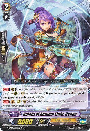 G-BT08/053EN (C) Knight of Autumn Light, Regan