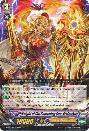 G-BT08/052EN (C) Knight of the Scorching Sun, Arvirarkus
