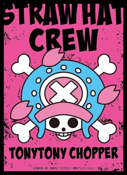 "Character Sleeve ""One Piece (Tony Tony Chopper) Pirate Flag"" EN-871 by Ensky"