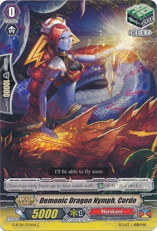 G-BT09/074EN (C) Demonic Dragon Nymph, Cordo