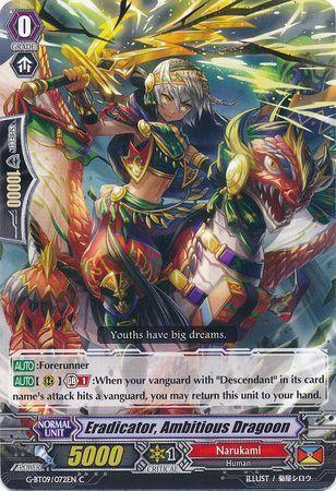 G-BT09/072EN (C) Eradicator, Ambitious Dragoon
