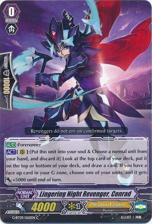 G-BT09/062EN (C) Lingering Night Revenger, Conrad