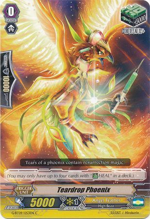 G-BT09/053EN (C) Teardrop Phoenix