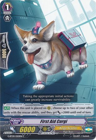 G-BT09/050EN (C) First Aid Corgi