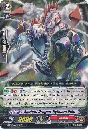 G-BT10/063EN (C) Ancient Dragon, Hylaeon Pike