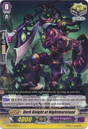 G-BT11/091EN (C) Dark Knight of Nightmareland