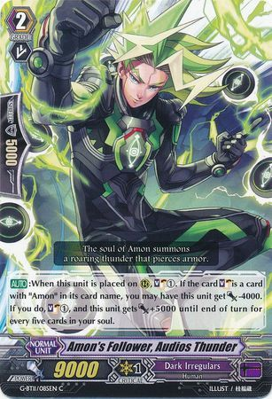 G-BT11/085EN (C) Amon's Follower, Audios Thunder