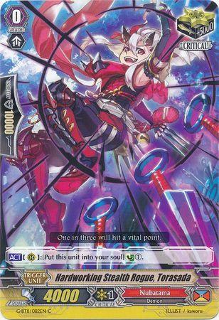 G-BT11/082EN (C) Hardworking Stealth Rogue, Torasada
