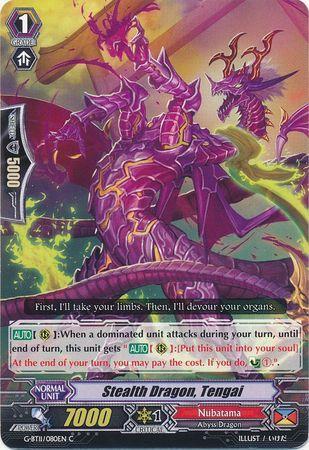 G-BT11/080EN (C) Stealth Dragon, Tengai