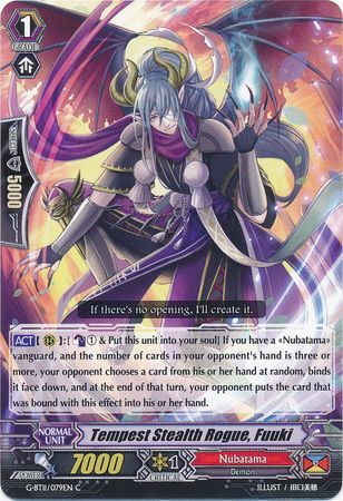 G-BT11/079EN (C) Tempest Stealth Rogue, Fuuki