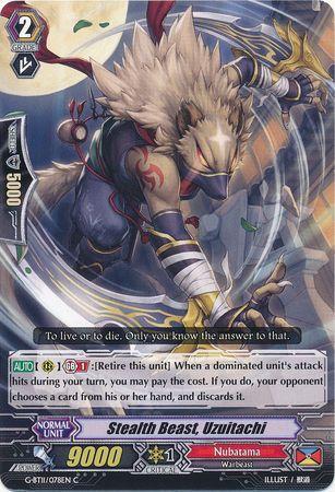 G-BT11/078EN (C) Stealth Beast, Uzuitachi