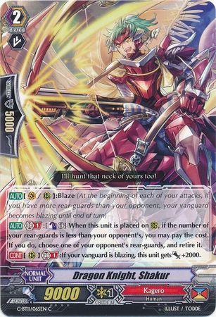 G-BT11/065EN (C) Dragon Knight, Shakur