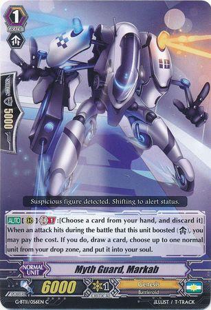 G-BT11/056EN (C) Myth Guard, Markah