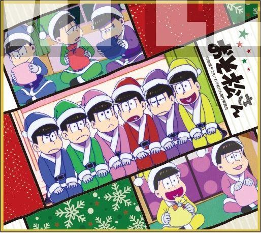 "Trading Mini Shikishi Vol.1 ""Osomatsu-san (Christmas)"" by Bushiroad Music"