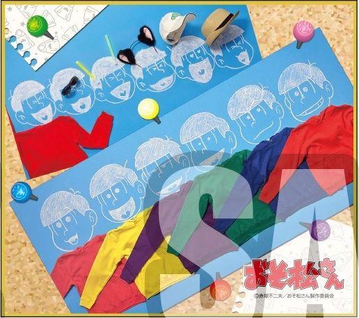 "Trading Mini Shikishi Vol.1 ""Osomatsu-san (Group)"" by Bushiroad Music"