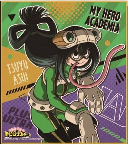 "Mini Shikishi Collection ""My Hero Academia (Tsuyu Battle Suit)"" by POMMOP"