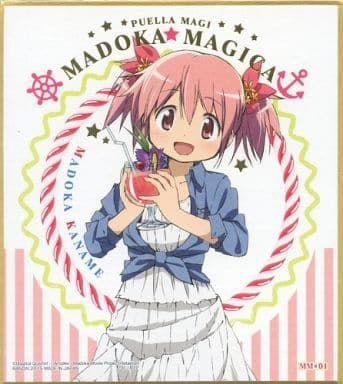 "Shikishi Art ""Puella Magi Madoka Magica (Madoka Kaname)"" by Bandai"