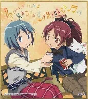 "Shikishi Art ""Puella Magi Madoka Magica (Sayaka & Kyoko)"" by Bandai"