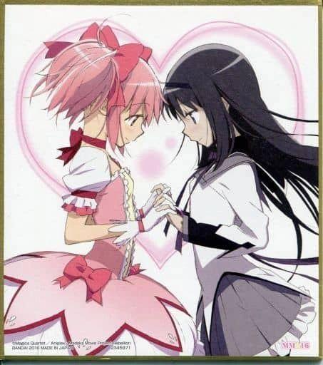 "Shikishi Art 2 ""Puella Magi Madoka Magica (Madoka & Homura)"" by Bandai"