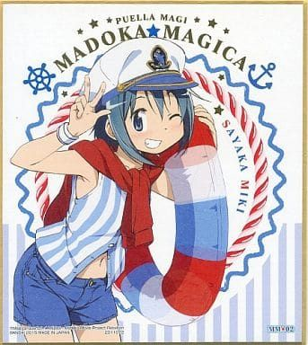 "Shikishi Art ""Puella Magi Madoka Magica (Sayaka Miki)"" by Bandai"