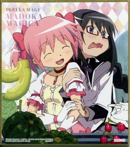"Shikishi Art 2 ""Puella Magi Madoka Magica (Madoka & Homura)"" MM13 by Bandai"