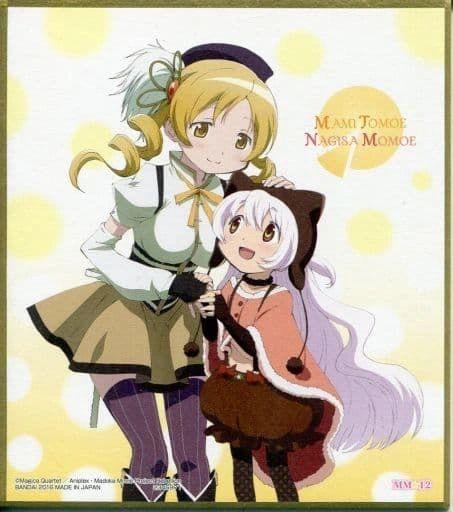 "Shikishi Art 2 ""Puella Magi Madoka Magica (Mami & Nagisa)"" by Bandai"