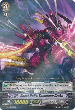BT09/031EN (R) Beast Deity, Yamatano Drake