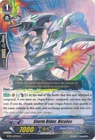 BT09/027EN (R) Storm Rider, Nicolas